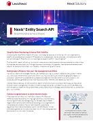 Nexis Entity Search API