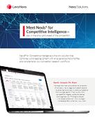 Nexis für Competitive Intelligence