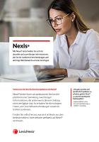 Factsheet Nexis