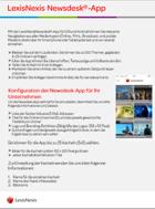 Mobile Newsdesk App
