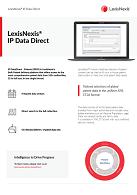 Factsheet LexisNexis IP Data Direct