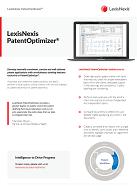 Factsheet LexisNexis PatentOptimizer