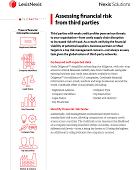 Produktbroschüre Assessing financial risk from third parties
