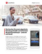 Broschüre zur Nexis News App