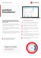 Factsheet LexisNexis PatentAdvisor