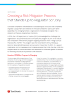 Whitepaper: Creating a Risk Mitigation Process that Stands Up to Regulator Scrutiny