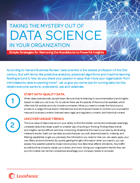 Whitepaper: Taking The Myster Out Of Data Science