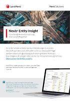 Risikoüberwachung mit LexisNexis Entity Insight