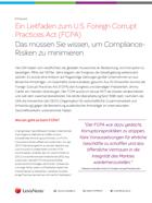Ein Leitfaden zum FCPA
