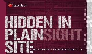 Modern Slavery in der Bauindustrie