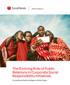 Whitepaper: The Evolving Role of Public Relations in Corporate Social Responsibility Initiatives