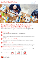 Social Media Monitoring mit LexisNexis Social Analytics