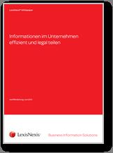 Whitepaper Informationen im Unternehmen effizient und legal teilen