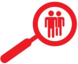 Lupe Geschäftspartnerüberprüfung - Erfolgsrezepte für den Mittelstand