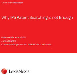 Whitepaper: Why IP5 Patent Searching is not Enough