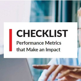 Download Whitepaper: Checklist - Performance Metrics that Make an Impact