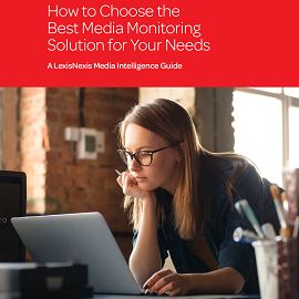 Download Whitepaper: How to Choose the Best Media Monitoring Solution for Your Needs