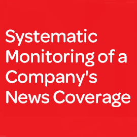 Download Whitepaper: Systematic Monitoring of a Company´s News Coverage
