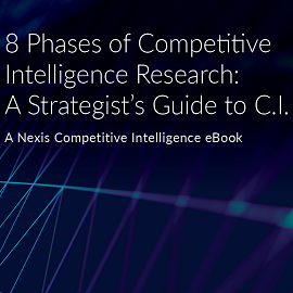 Download Whitepaper: 8 Phases of Competitive Intelligence Research: A Strategist's Guide to C.I.