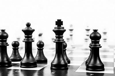 Darstellung eines Schachbretts